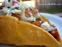 San Diego style fish tacos...beer battered fish & corn tortilla