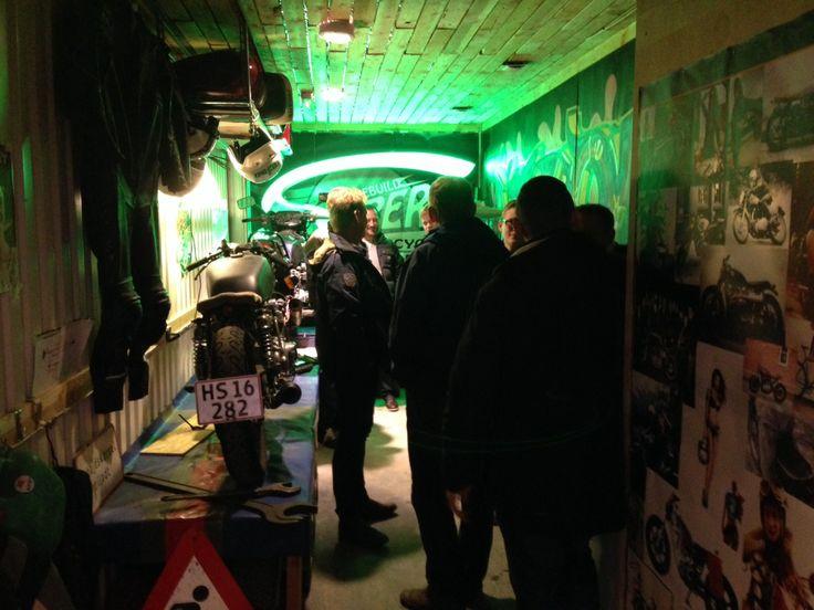 Garage meeting december 2013