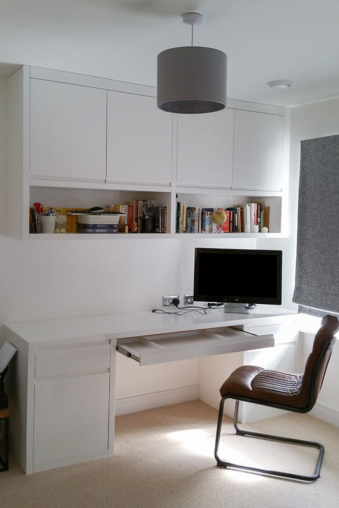 A Desk With Shelving Cabinet Above Living Room Shelves Living Room Office Shelves Above Desk