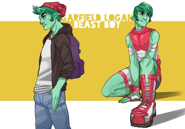 Artistic! Teen Titans Redesign