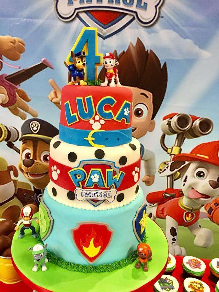 Paw Patrol Birthday Party Ideas With Images Paw Patrol