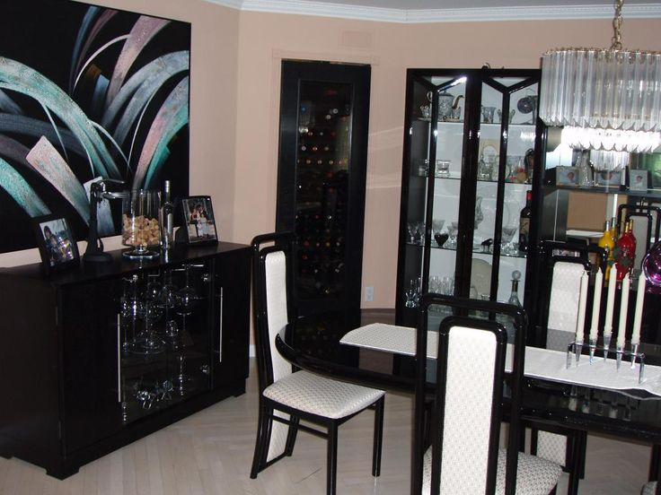 Black Lacquer Furniture Google Search Art Deco