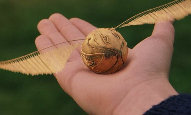 Here's how to make a golden snitch just like Harry Potter's