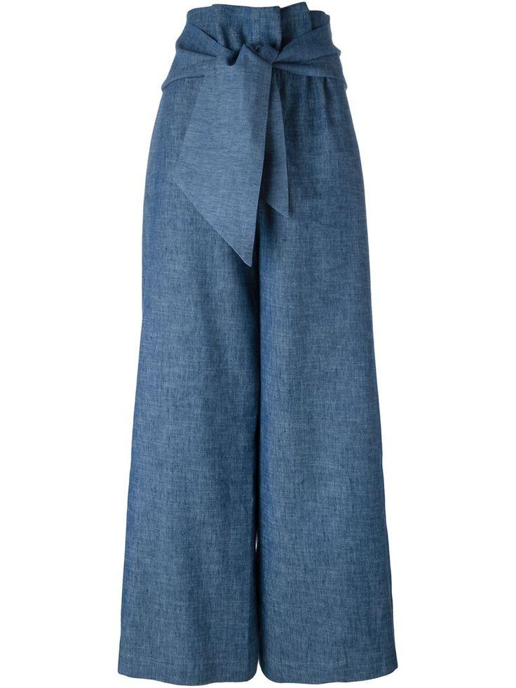 MSGM широкие брюки
