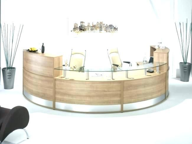 Contemporary Office Reception Ultra Modern Reception Desk Ideas