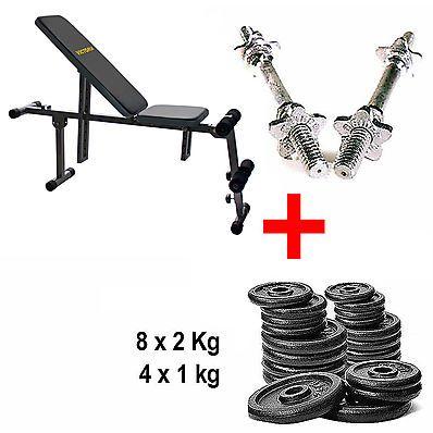 LINK: http://ift.tt/2k056eJ - PANCA GINNICA E PANCA PER ADDOMINALI TUTTO IN UNO! #palestra #fitness #allenamento #addominali #pancaaddominali #potenziamentomuscolare #muscoli #salute #benessere => Victoria Kit Panca Bench Trainer   Manubri   Pesi e trasporto gratis! - LINK: http://ift.tt/2k056eJ