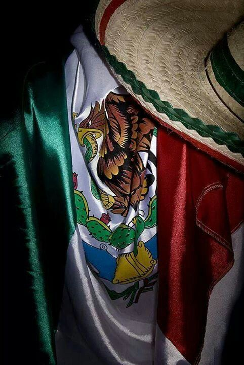Nuestra Bandera!! La mas bella del mundo #VivaMexico