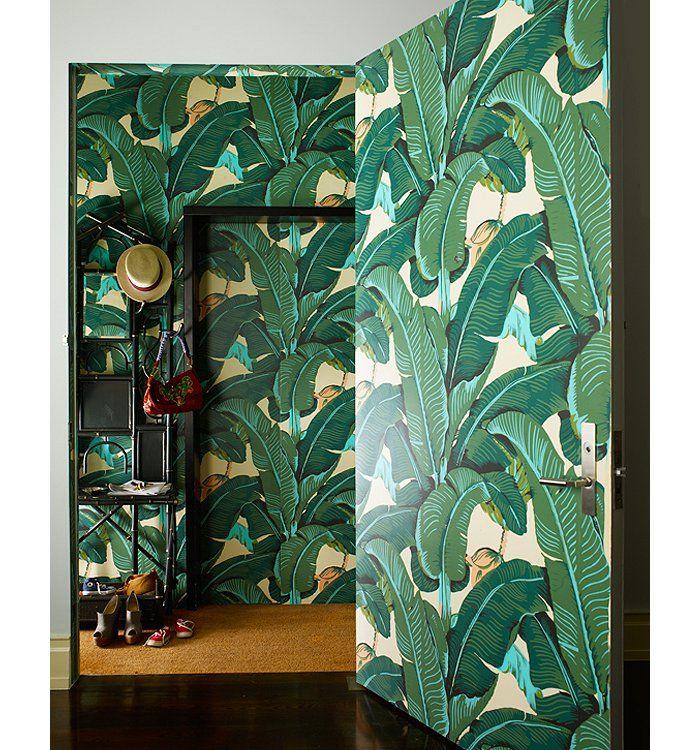 Les 89 meilleures images propos de id es pour la maison sur pinterest fig - Papier peint jungle tropicale ...