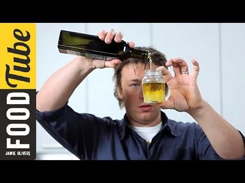 Jamie Oliver's principles for superb salads - YouTube  Notes for Santi: my favorite video on how to make a great salad that isn't boring and that you will actually want to eat, from the master of teaching men how to cook-- the Naked Chef, Jamie Oliver ;).  Also contains instructions for how to make your own easy salad dressings, which can be adapted 100 different ways (important because many store-bought dressings contain sugar).  You will be amazed at how simple it is.