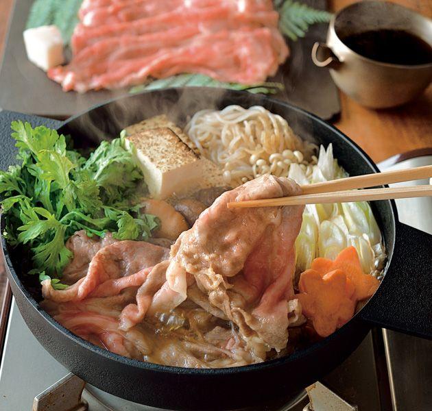 すき焼き。Sukiyaki.