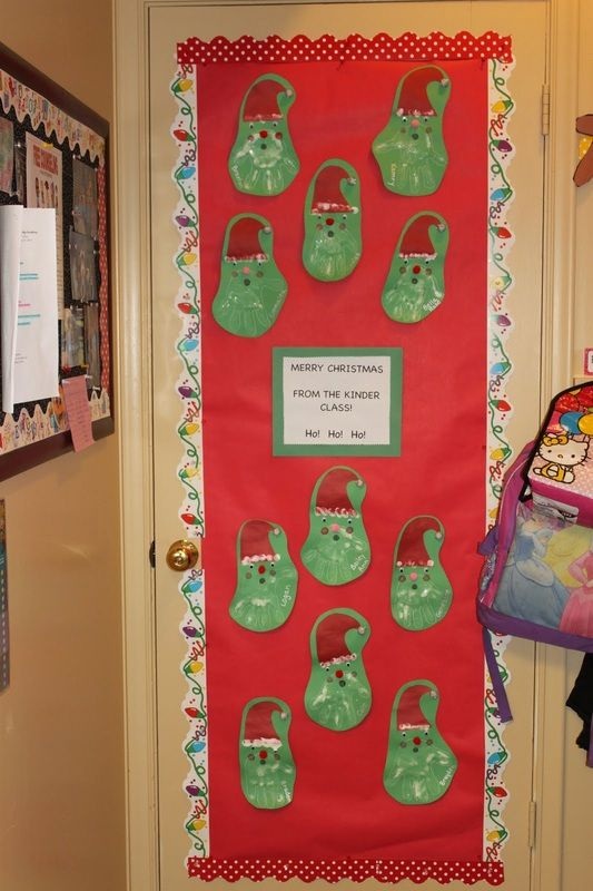 Christmas Door Decorating Contest Ideas For School : School christmas door contest winners