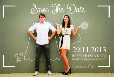 Un save the date cool & stylé