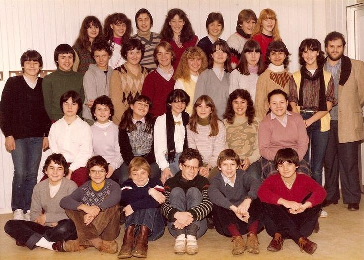 Photo de classe 5ème de 1980, Collège Saint-joseph