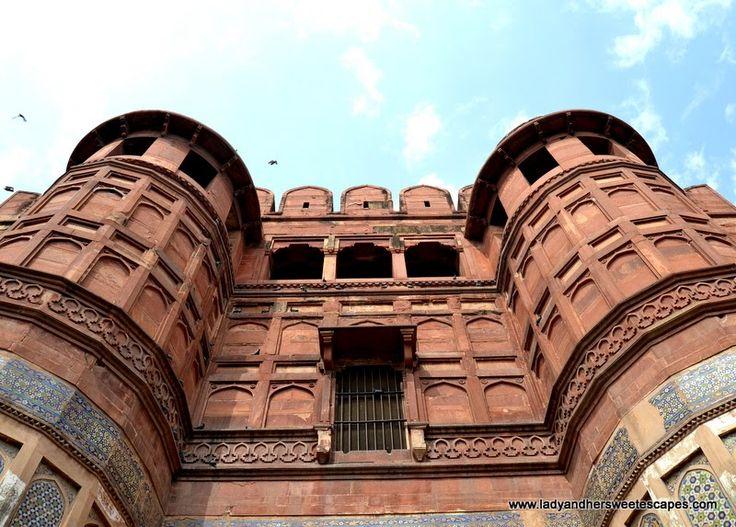 the inner gate of Agra Fort