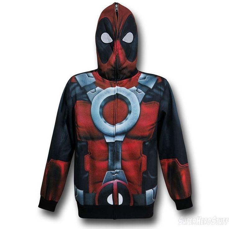 Deadpool Lightweight Sublimated Hoodie