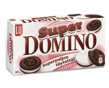 Super Domino etenkin tämä mutta normaalikin käy