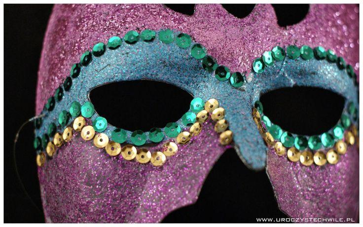 Instrukcja jak zrobić maskę karnawałową