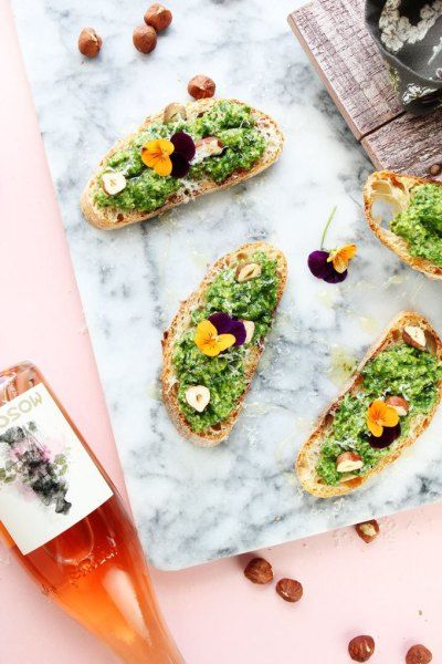 Floral-topped food that's (almost) too pretty to eat! http://www.stylemepretty.com/collection/2931/