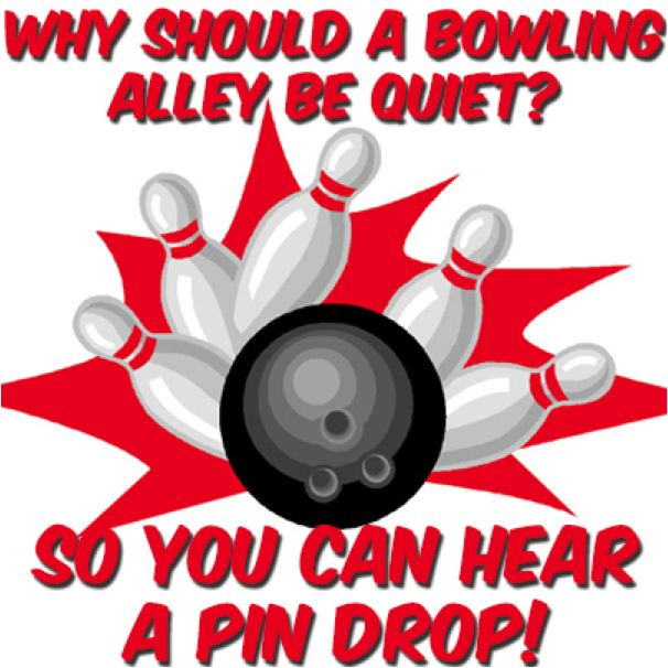 We hope this one gets you rolling with laughter! #GoBowling