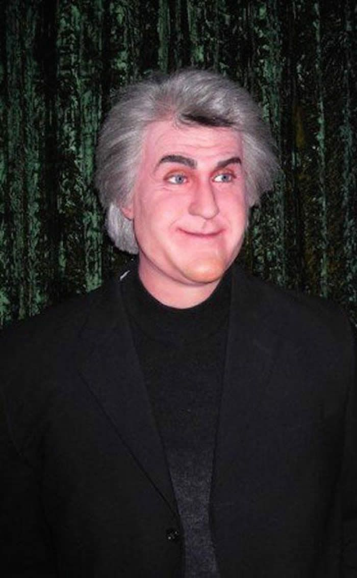 Jay Leno  The 18 Most Bizarre And Scary Celebrity Waxworks You'll Ever See • Page 3 of 5 • BoredBug