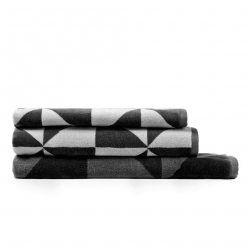 Modern geo towels from Adairs ❤️❤️