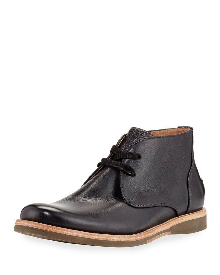 Brooklyn Leather Chukka Boot, Black