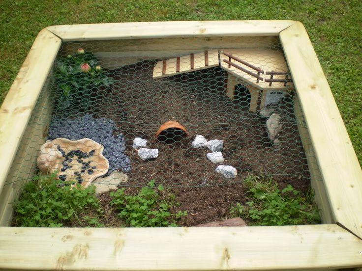 25 best ideas about tortoise enclosure on pinterest for Table exterieur habitat