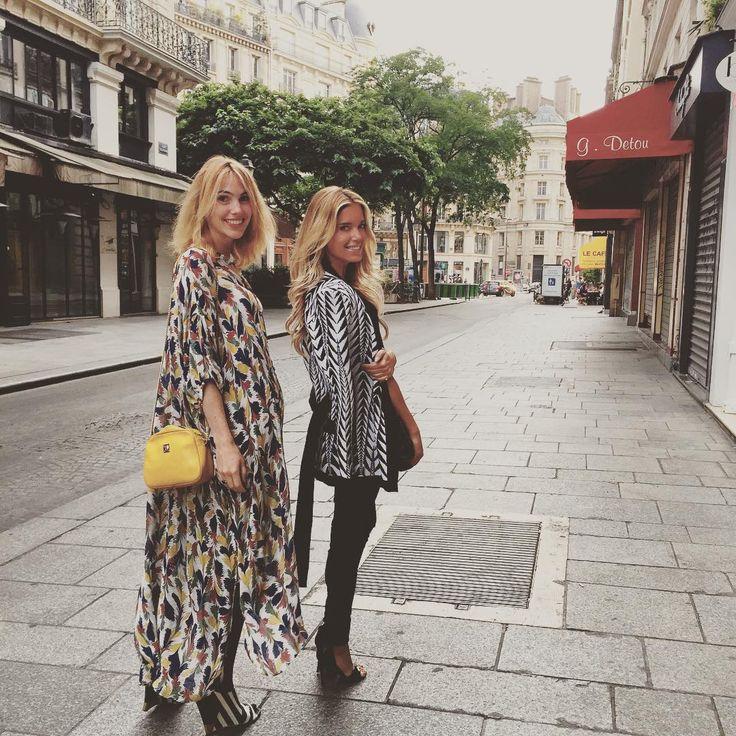 #Paris @sophievanderstap #catchingup