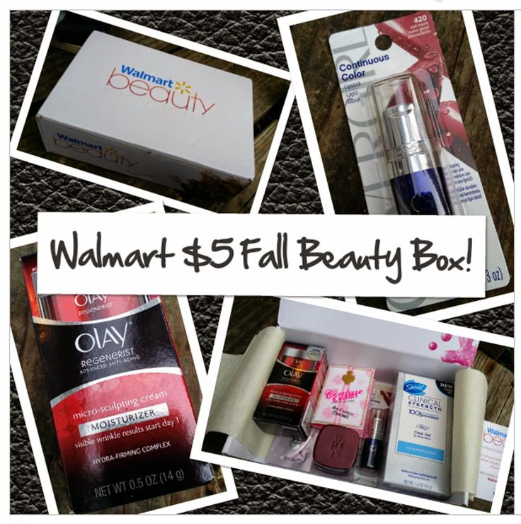 Two Chix Beauty Fix: What Was In my Walmart Fall 2014 $5 Beauty Box (Unboxing Pictures & Review) @walmart.com