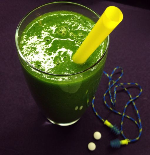 50 shades of Kale: Hangover smoothie for those well hung.