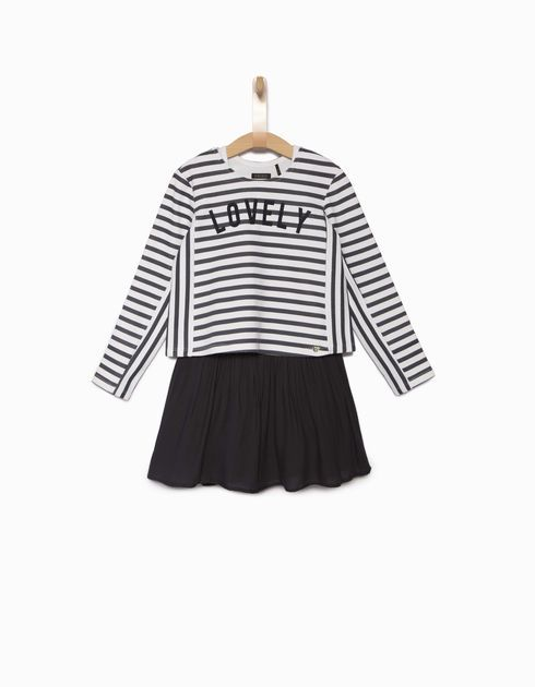 Girls' sweater dress