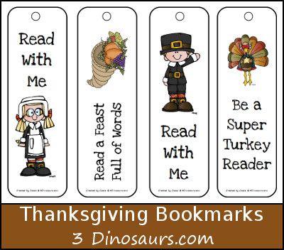 Интересные закладки на тему Дня благодарения (Thanksgiving Day) дети смогут сделать самостоятельно