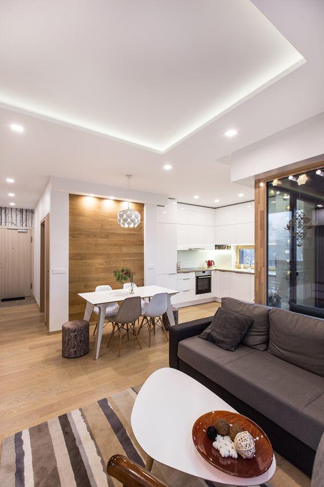Un apartament de 2 camere cu tematica inspirata de natura- Inspiratie in amenajarea casei - www.povesteacasei.ro
