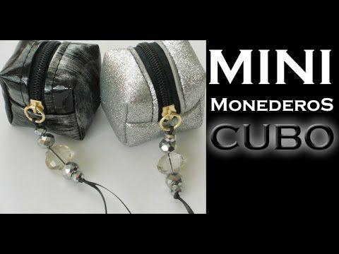 Cómo hacer un Mini Monedero CUBO / TUTORIAL / Inerya viris