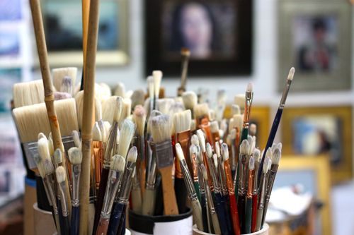 Love artists brushes....