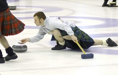 Curling - Wish they would show more of it during the Winter Olympics.