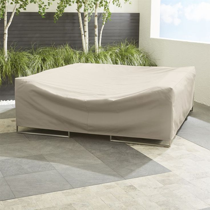 Outdoor Small Sectional Cover - Crate and Barrel