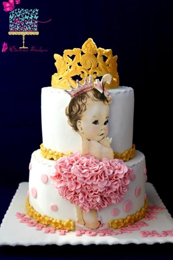 Surprising Birthday Cake By Ditsan With Images Baby Birthday Cakes Personalised Birthday Cards Akebfashionlily Jamesorg