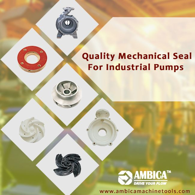 Are you searching for the #MechanicalSeal for your industrial pump? Get in touch with #AmbicaMachineTools to get a best suitable mechanical seal for your industrial pumps. http://www.ambicamachinetools.com/pump-spares-and-parts.htm