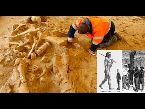 5 METER TALL HUMAN SKELETON UNEARTHED IN AUSTRALIA