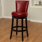 "Found it at Wayfair - Boston 26"" Swivel Barstool for about $250 each. 40 x 20 x 20 inches."