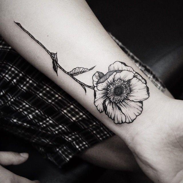 Botanical tattoo #flower