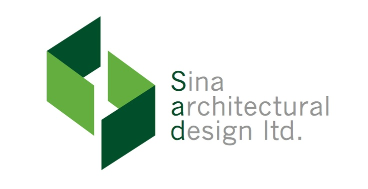 Sina Architectural Design Ltd. logo designed by Fusion Studios Inc