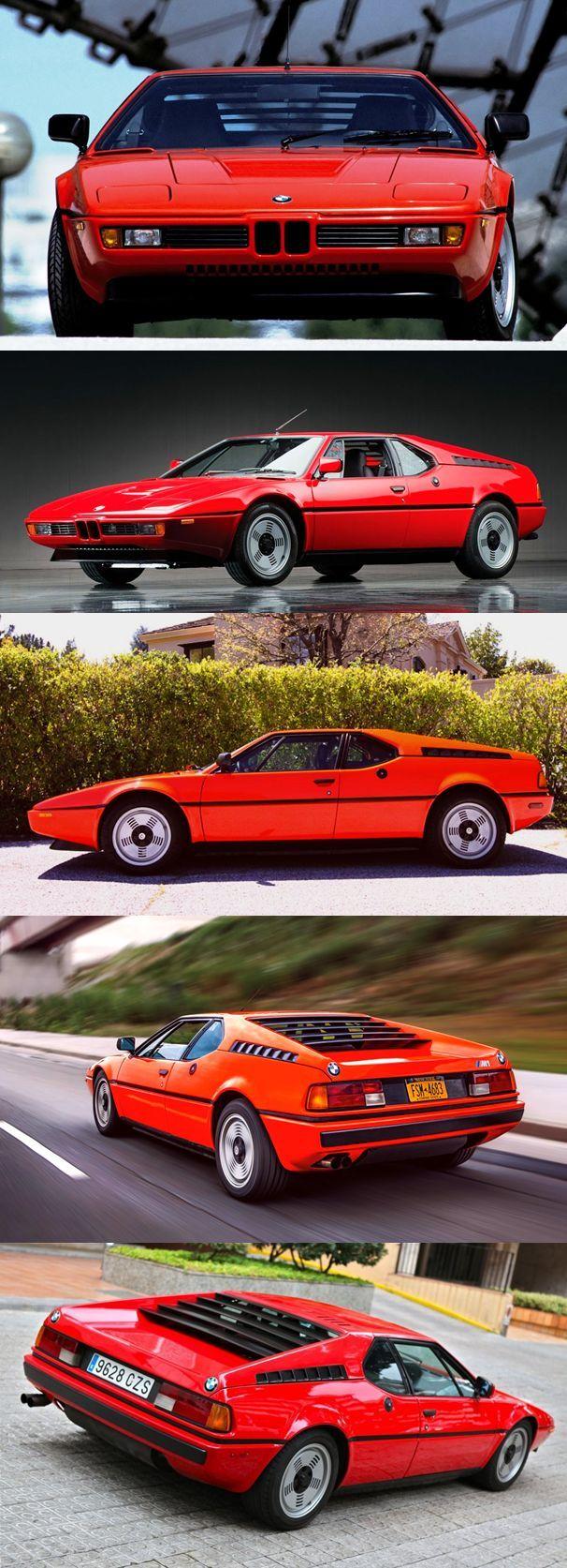 ✨  BMW M1,1978 - zweitüriges Coupé, 1978 bis 1981 insgesamt 460-mal produziert