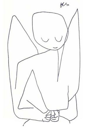 Angel, 1939. Paul Klee.