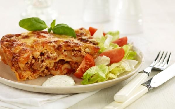 Oppskrift på Svinegod lasagne