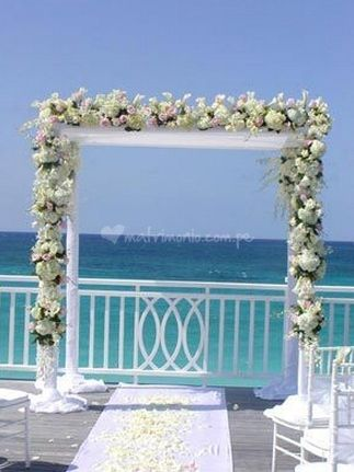 Arco con flores de Los Claveles Anabel | Foto 1