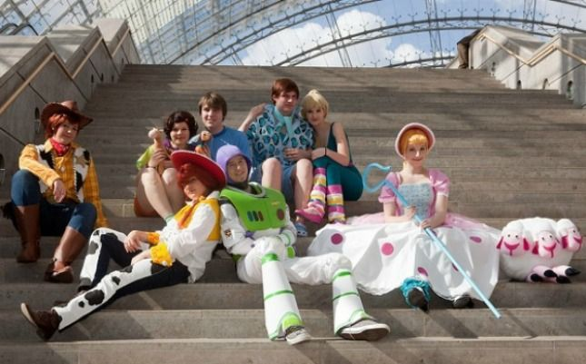 Toy story - 100 Winning Group Halloween Costume Ideas via Brit + Co.