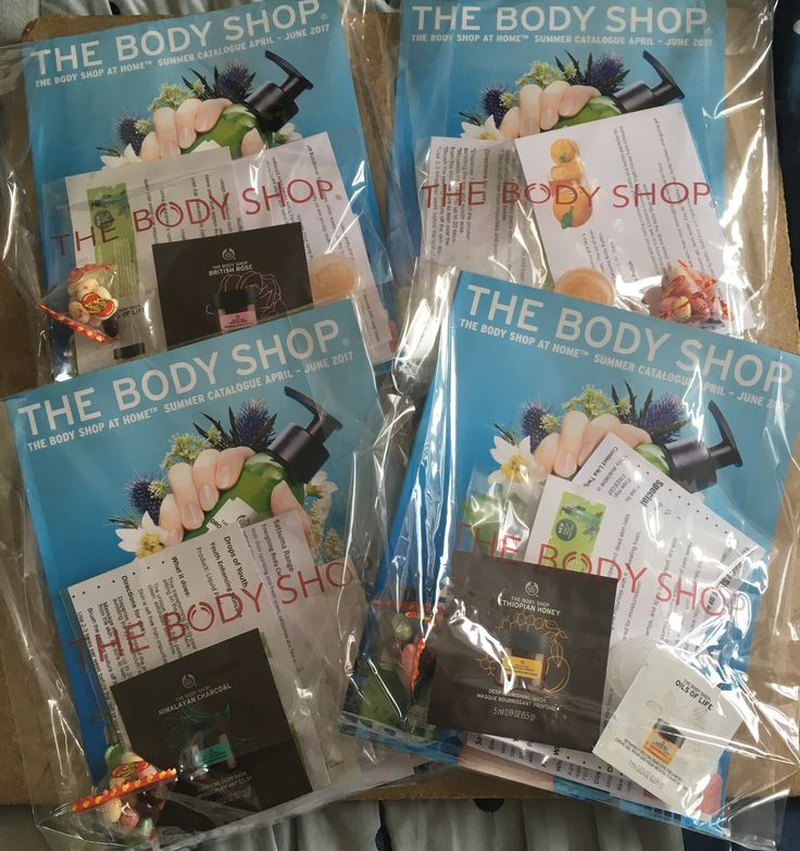 New Customer Marketing Packs - Direct Selling The Body Shop at Home