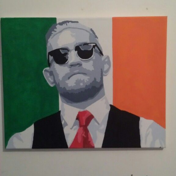 Conor mcgregor painting
